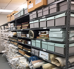 Shelves at Multnomah County Archives