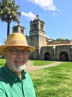 Photo of Bob at Mission Purisima Concepción