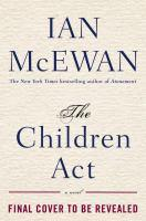 The Children Act bookjacket