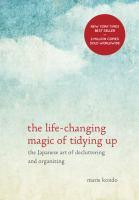 The Life-changing magic of tidying up bookjacket