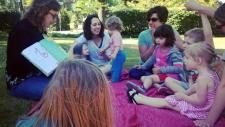 Family Storytime in the Garden