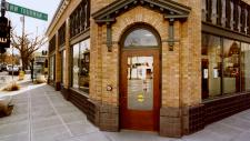 Northwest Library entrance
