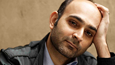 Moshin Hamid, image by Jillian Edelstein