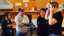 Teens in makerspace