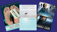 Book covers of always available audiobooks