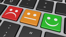 keyboard w emoticons