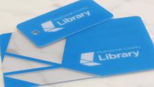 Su tarjeta de la biblioteca