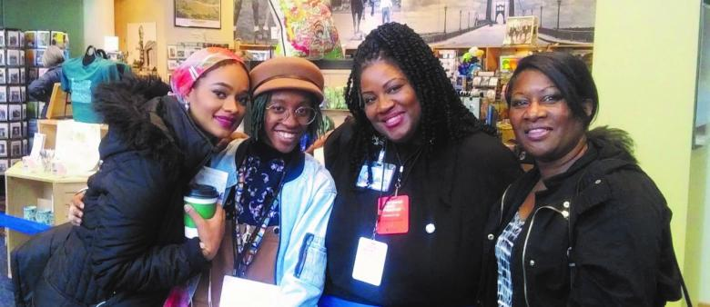 Black Cultural Library Advocates staff members
