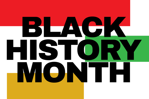 Banner for Black History Month