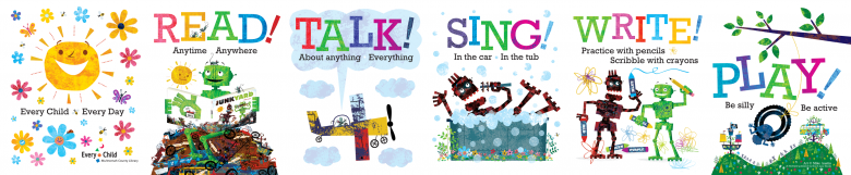 Every Child posters and rhyme books | Multnomah County Library