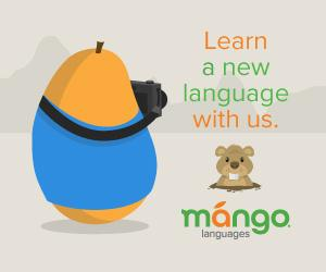 Learn a new language with us. Mango Languages.