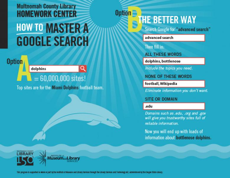 Link to infographic - How To Master a Google Search