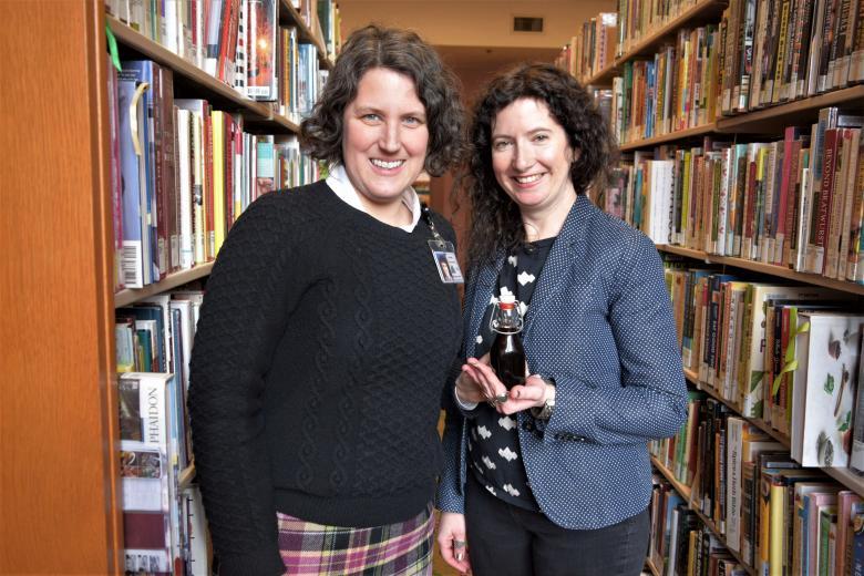 Pauline Theriault and Liz Crain