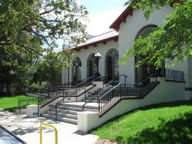 Exterior of Title Wave Used Book Store, new location for Albina Library