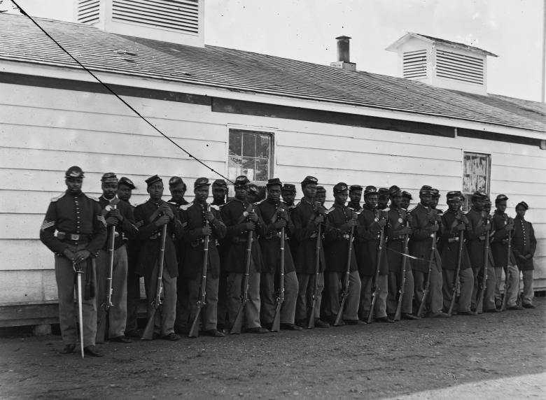 United States Black Regiment Photo:Wikipedia
