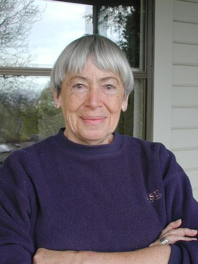 Ursula K. Le Guin [photo by Eileen Gunn]