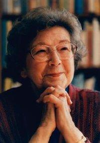 Photo of Beverly Cleary from beverly cleary dot com