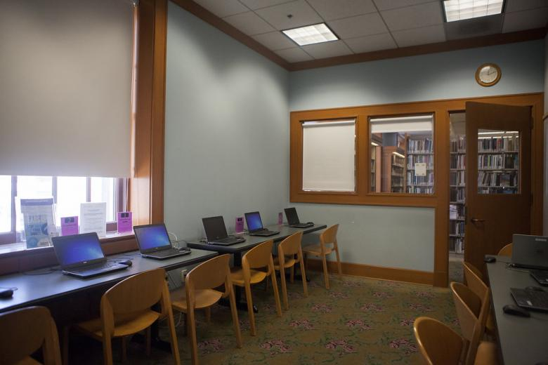 Central Library computer center