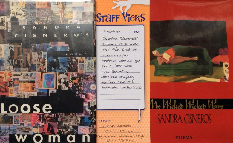 cover image of sandra cisneros books