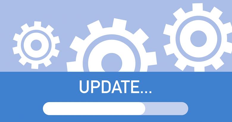 Software updates alert image