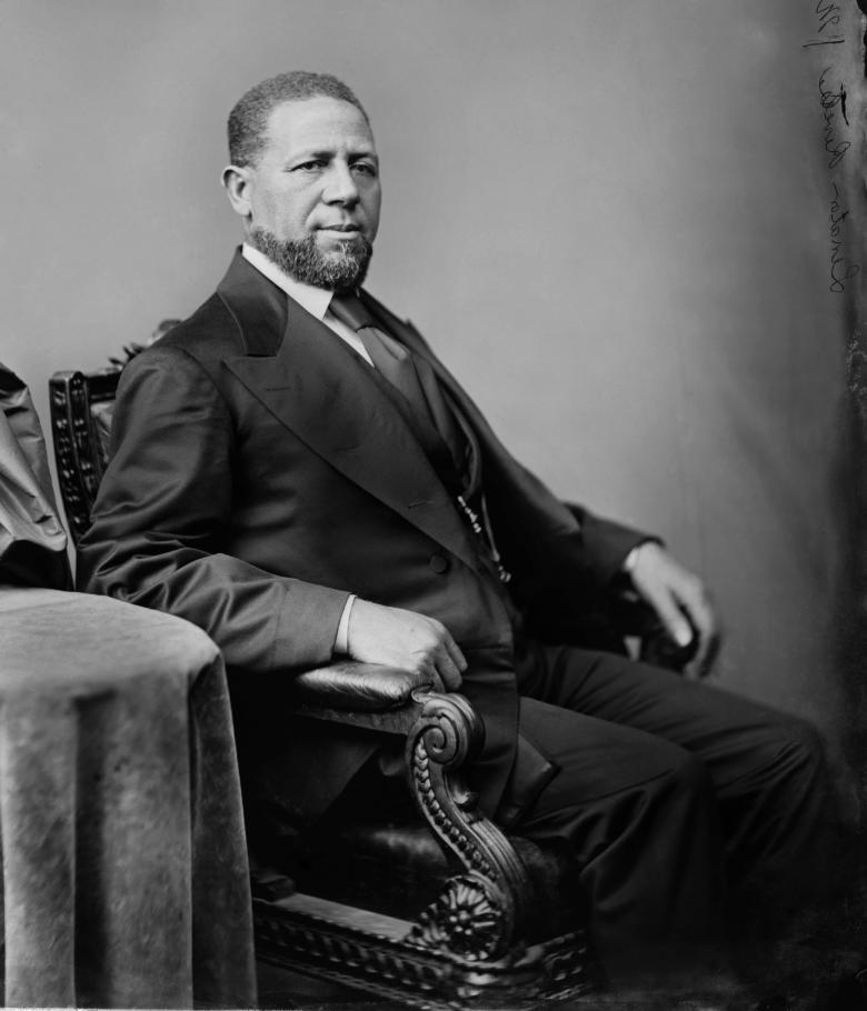 Congressman Hiram Rhodes Revel 1827-1901