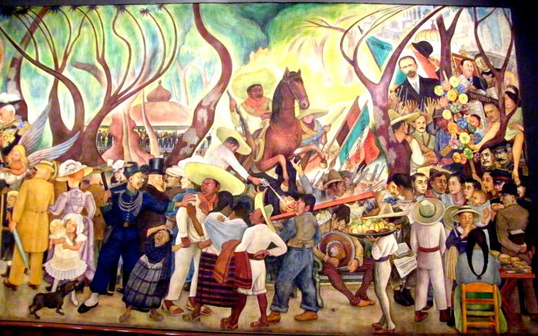 Rivera's mural