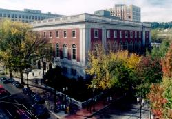 Exterior of Central Library