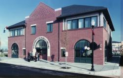 Exterior of Fairview-Columbia Library