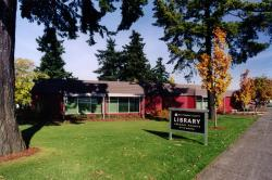 Exterior of Gregory Heights Library
