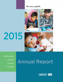 2015 Annual Report cover image