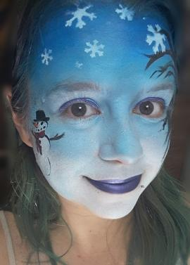 Winter Wonderland Face Painting