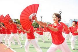 Tai Chi Fan Dance