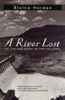 A River Lost book jacket