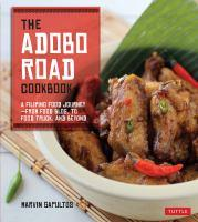 Adobo Road Cookbook bookjacket