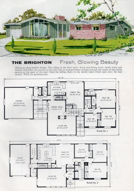 The Brigton, a 1962 house design from the Aladdin Co. [via Flickr user Ethan]