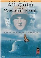 All Quiet on the Western Front dvd cover