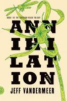Annihilation book jacket