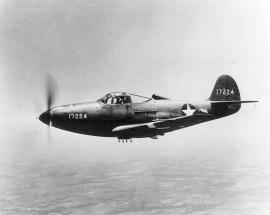 A Bell P-39 Airacobra