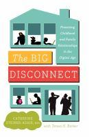 The Big Disconnect book jacket