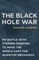 The Black Hole War book jacket