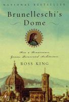 Brunelleschi's Dome book jacket
