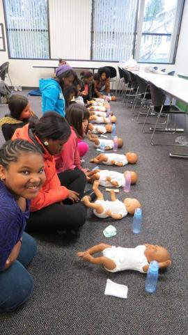 Kidproof babysister's training
