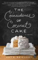 The Coincidence of Coconut Cake book jacket