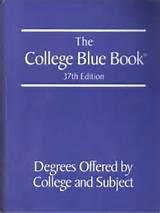 College Blue Book