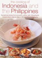 Cooking of Indonesia and the Philippines book jacket