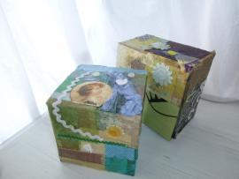 Decorative Decoupage Boxes