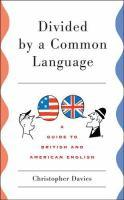 Divided by a Common Language book jacket