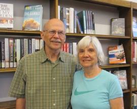 Volunteers Don & Lynn Lampard
