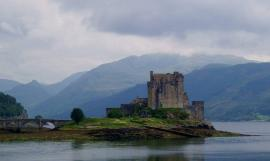 Eilean Donan Castle, Lochalsh, Scotland. Photo by Dave Conner.