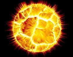 Summer Exploding Sun Image